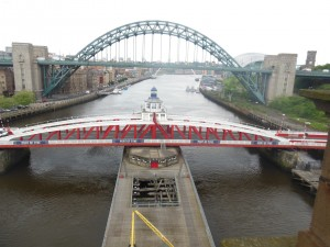 Tyne Bridges from High Bridge