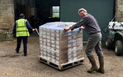 Food distributed in Yorkshire