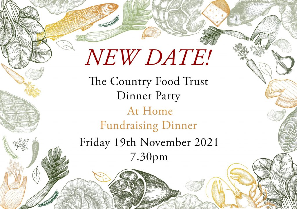 The Country Food Trust Dinner Party November 2021