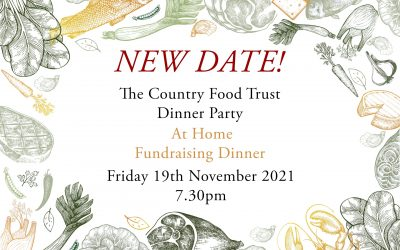 New Date for CFT Dinner Party